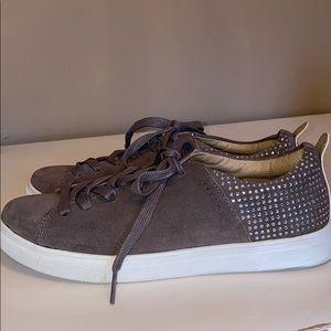 Sketchers Brown Studded Sneakers